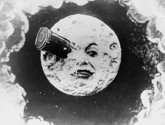 Melies, Le voyage dans la lune, 1902.